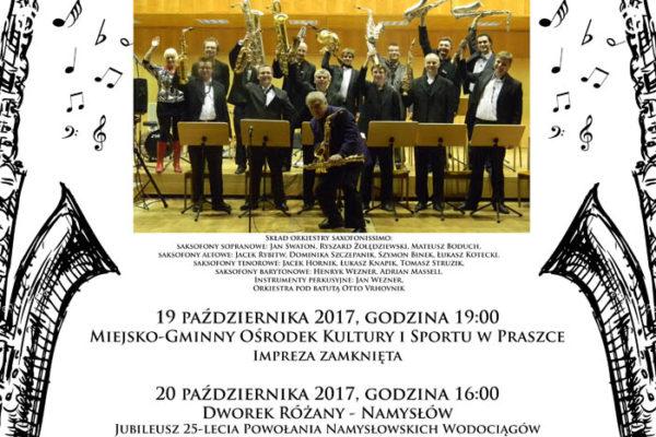 Orkiestra SAXOPHONE – PAŹDZIERNIK 2017