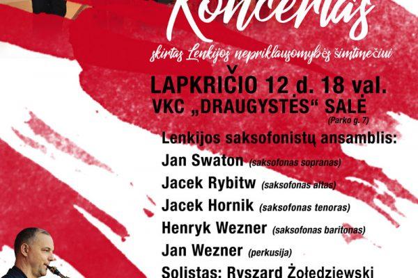 Koncert  LITWA – 12.11.2018