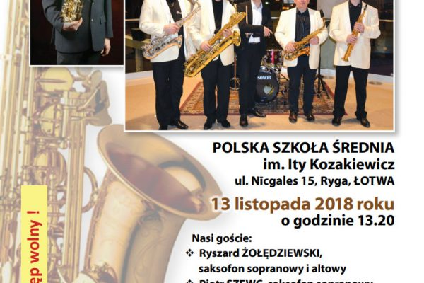 Koncert – 13.11. Łotwa/Ryga